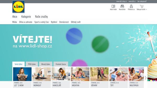 Jaké SEO má nový web Lidl-shop.cz